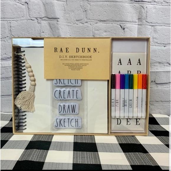 Rae Dunn DIY Sketchbook